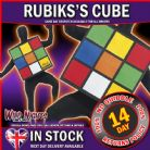 FANCY DRESS COSTUME ~ RUBIKS CUBE UNISEX